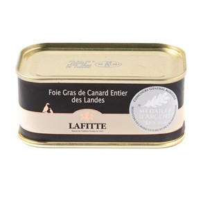 Lafitte Whole Duck Foie Gras, 200g