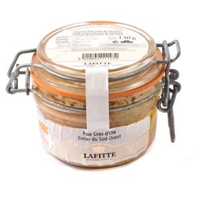 Lafitte Whole Goose Foie Gras Mi Cuit, 130g
