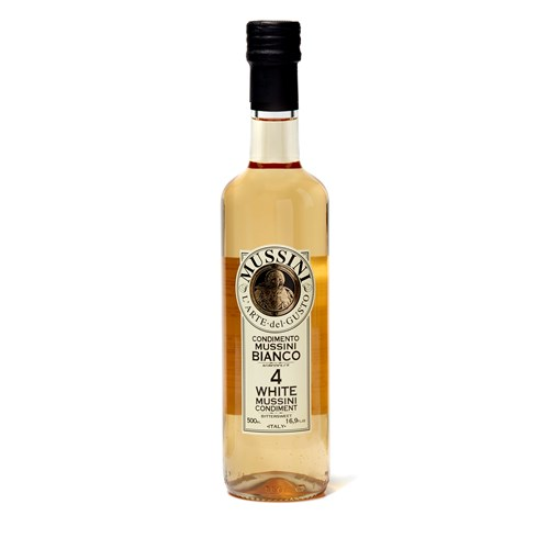 Mussini White Balsamic Vinegar No4, 500ml
