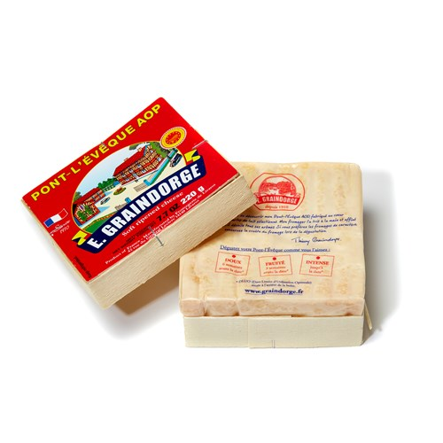 Pont L'Eveque Small Cheese, 220g