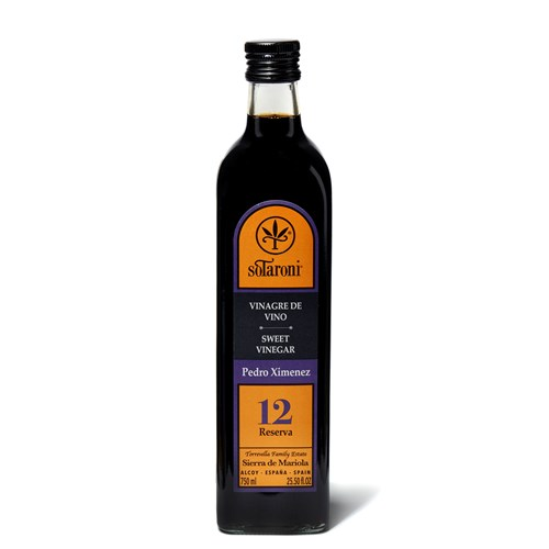 SoTaroni Sweet Pedro Ximenez Vinegar 12, 750ml