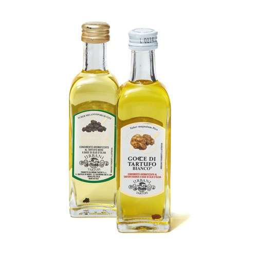Urbani Mini Twinset of Black & White Truffle Oils, 2 x 55ml