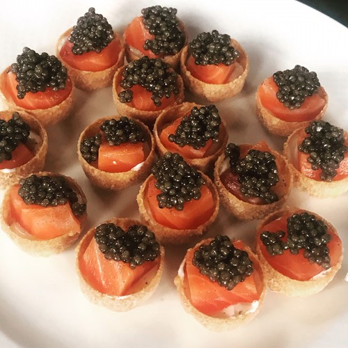 Exmoor Caviar Canapes at Home Kit