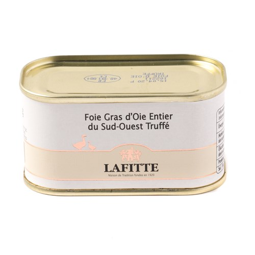 Lafitte Whole Goose Foie Gras with Truffle, 130g