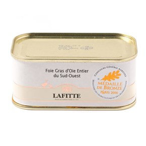 Lafitte Whole Goose Foie Gras, 200g